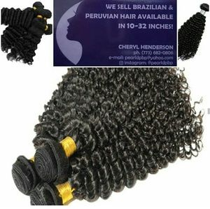 Brazilian/Peruvian Curly Extensions 20in